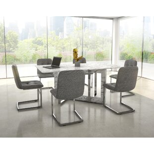 bruck contemporary 7 piece dining set - Contemporary Dining Room Furniture