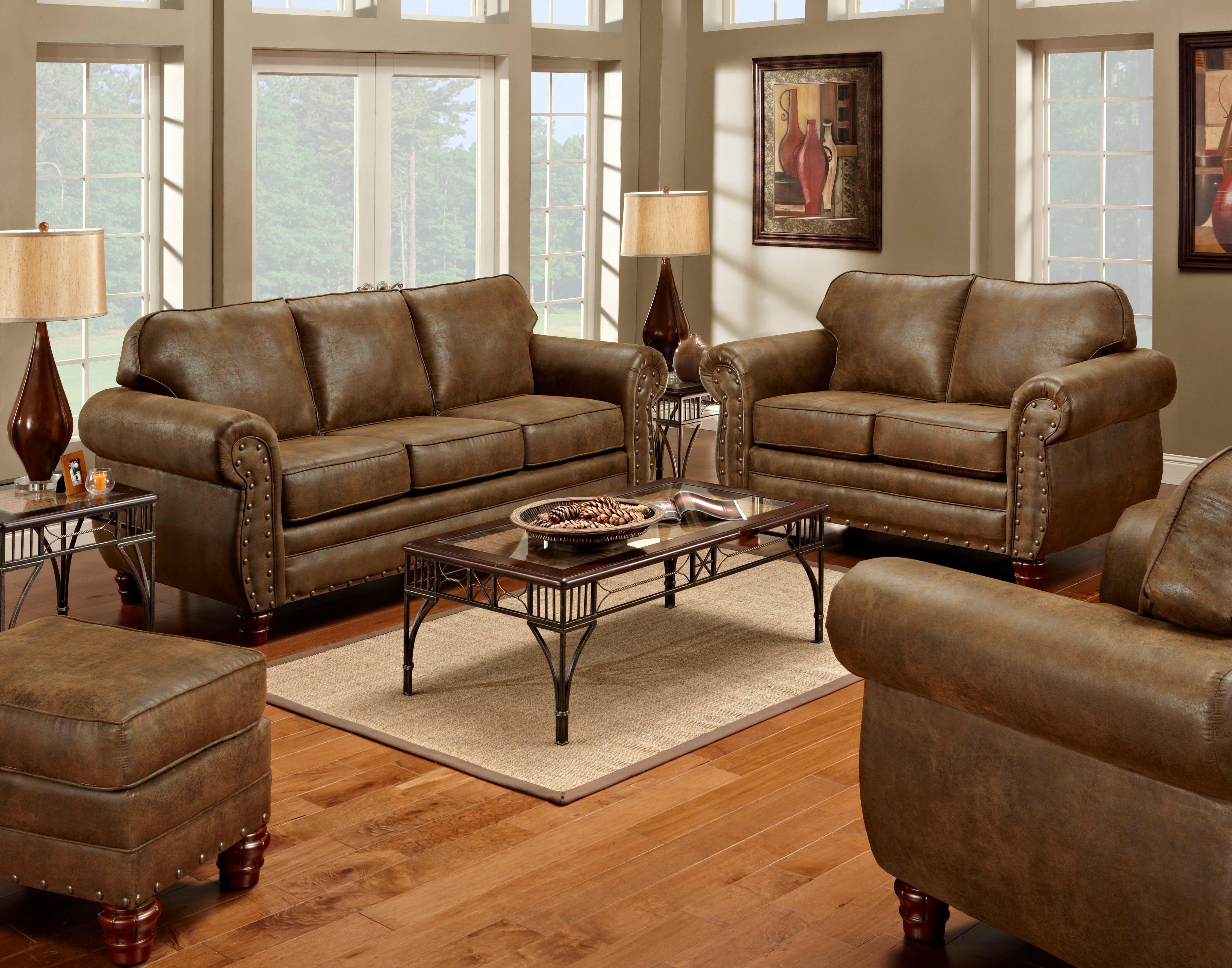 Aticus 4 Piece Sleeper Living Room Set