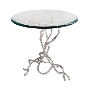 Magdalena Woven Vines End Table by Mercer41