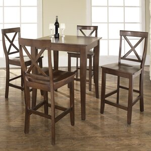 5 Piece Counter Height Pub Table Set by Wildon Home ?