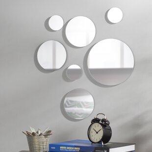 40 inch round mirror 48 inch piece round glass mirror set 40 inch wayfair