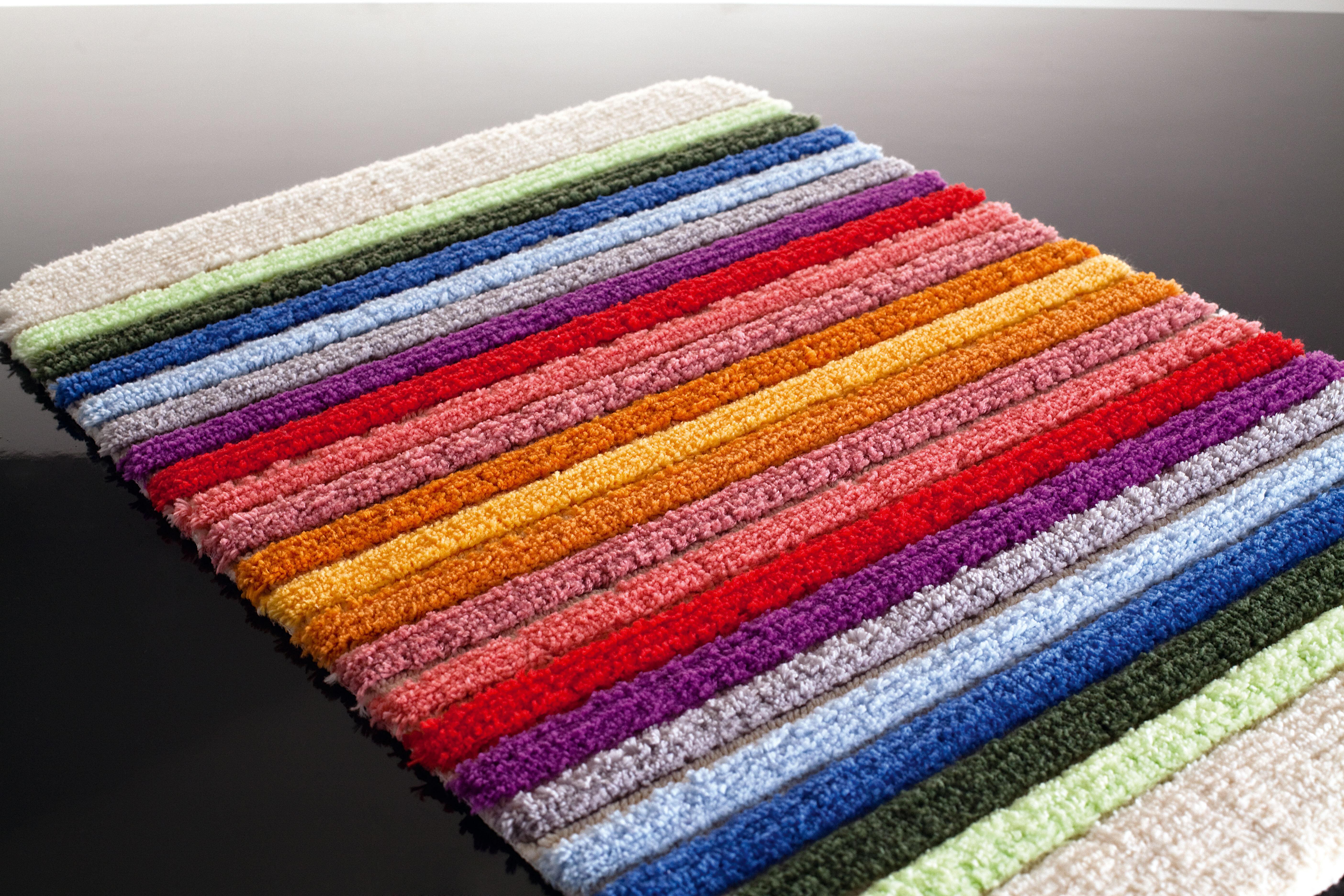 Sorema - Tapis rayures multicolores ...