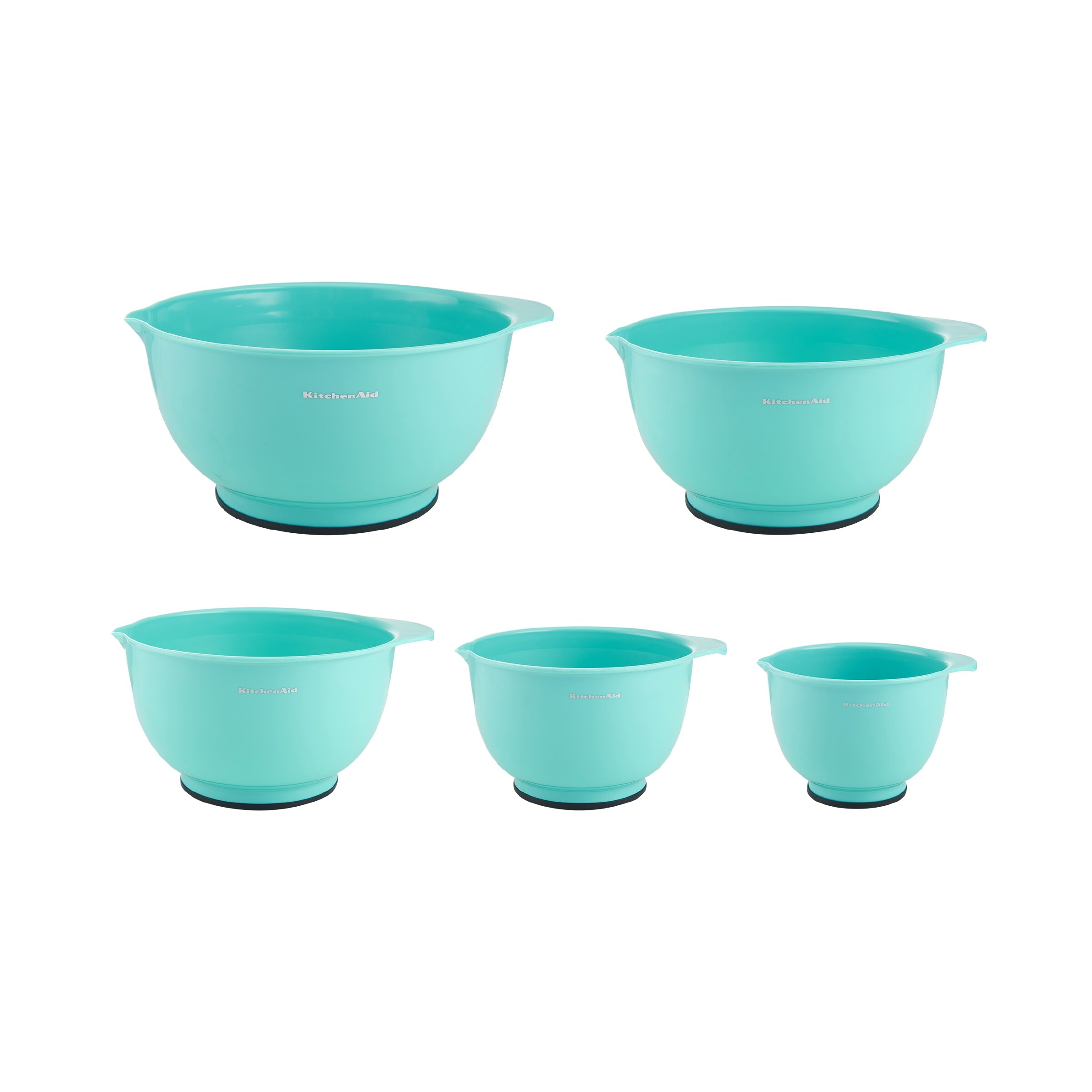 KitchenAid 5 Piece Plastic Mixing Bowl Set - KC178OSAQA | Wayfair