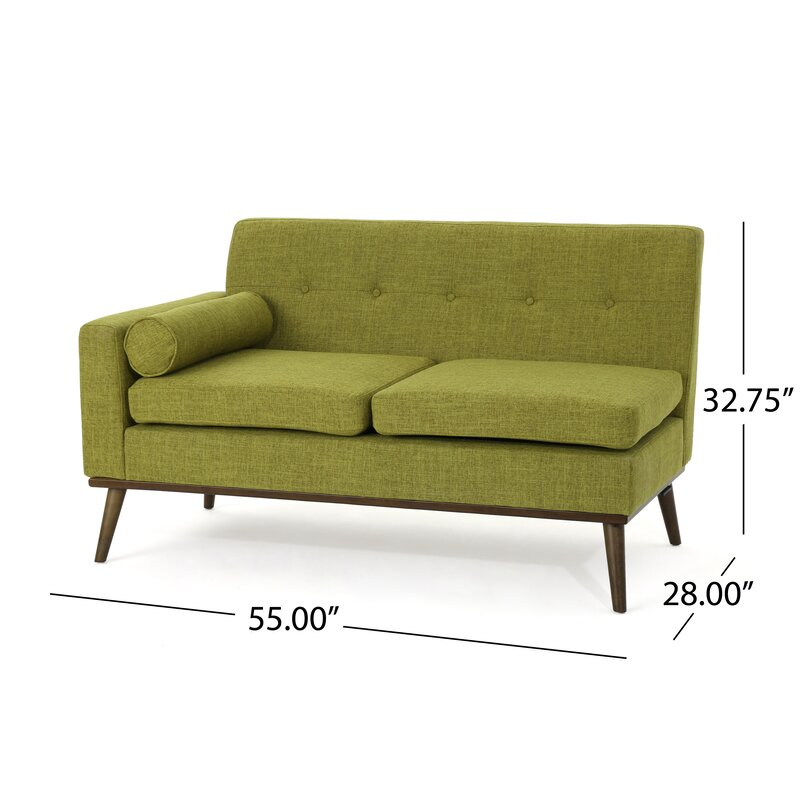 Charlcombe Mid Century Modern Modular Sectional Sofa