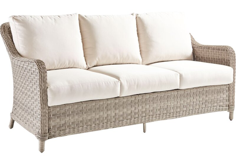 Hyde Park Sofa with Cushion - Hyde Park Sofa With Cushion & Reviews Joss & Main