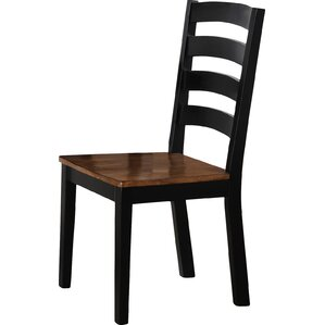 Simmons Casegoods Abita Solid Wood Dining Chair (Set of 2) by Red Barrel Studio