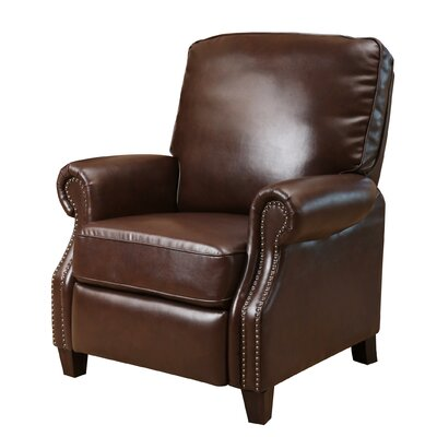 small apartment size recliners you ll love wayfair ca - Small Leather Recliners