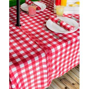 Zippered Umbrella Tablecloth Wayfair. Prepossessing Rectangle ...