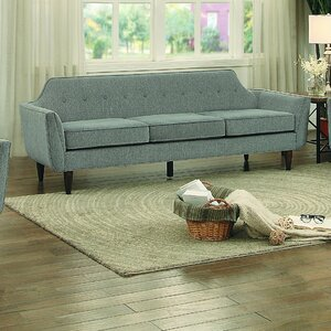 Lottie Upholstered Fabric Platform Bed Stylish Daily