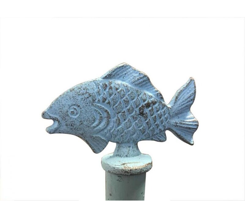 Handcrafted Nautical Decor Fish Freestanding Toilet Paper Holder ...