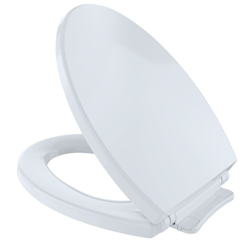 Toto Soft Close Elongated Toilet Seat Amp Reviews Wayfair