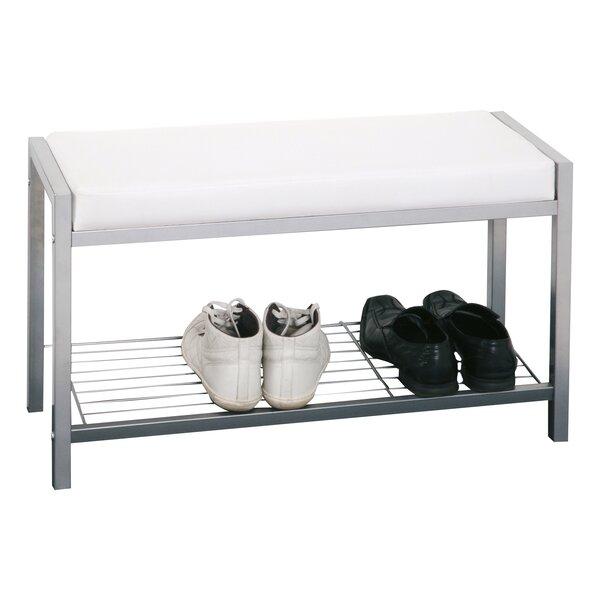 orren ellis gepolsterte sitzbank ronald mit stauraum. Black Bedroom Furniture Sets. Home Design Ideas