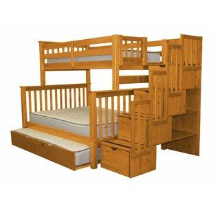 Farmhouse Rustic Kids Bunk Loft Beds Birch Lane