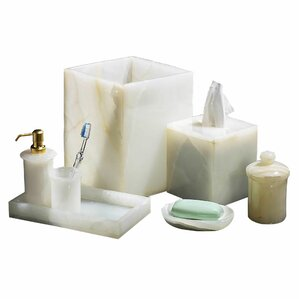 Marvelous 7 Piece Bathroom Accessory Set