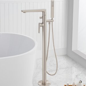 Adalbert Single Handle Floor Mounted Freestanding Tub Filler