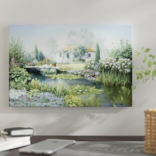 U0027Treasure Gardenu0027 Print On Canvas