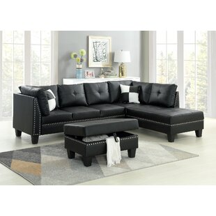 Keytesville Sectional Sofa With Ottoman