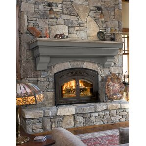 70 and Above Fireplace Mantels Youll Love Wayfair