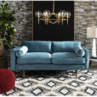 Lambright Velvet Sofa