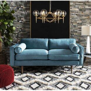 Genial Velvet Sofa