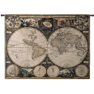 Old world map table wayfair old world map tapestry gumiabroncs Image collections