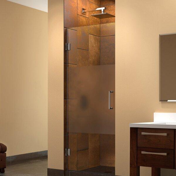 DreamLine Unidoor 72  x 29  Hinged Frameless Shower Door with ClearMax™ Technology u0026 Reviews | Wayfair & DreamLine Unidoor 72