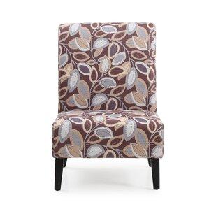 Upholstered Slipper Chair by Hodedah