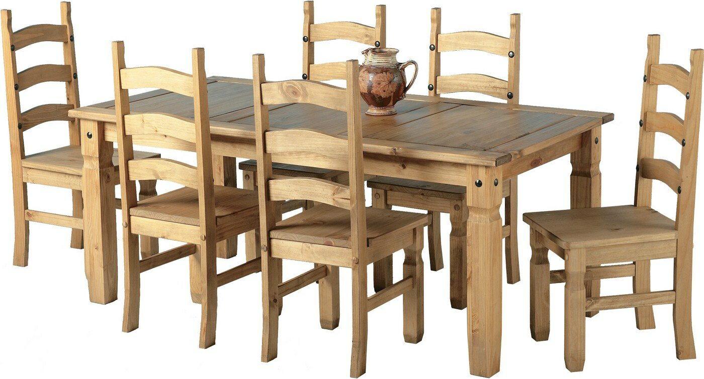 Andover mills corona dining set with chairs reviews
