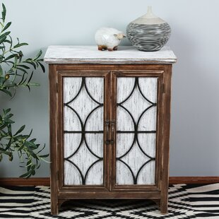 Seaver Decorative Wood 1 Door Accent Cabinet
