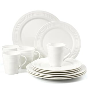 Tin Can Alley Four Degree 12 Piece Dinnerware Set Service for 4  sc 1 st  Birch Lane & Dinnerware Sets \u0026 Place Settings | Birch Lane