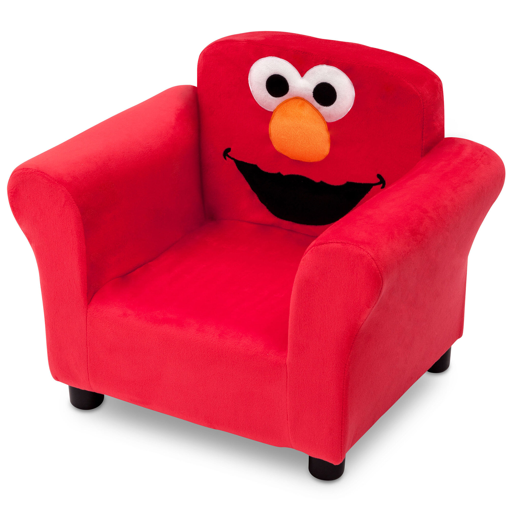 Delta children sesame street elmo kids upholstered club chair reviews wayfair