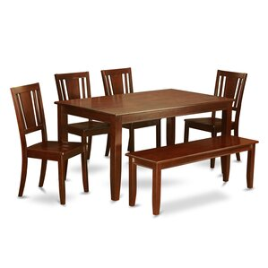 Dudley 6 Piece Dining Set by Wooden Im..