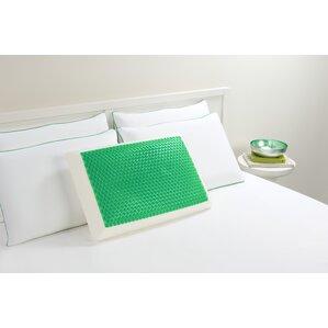 Bubble Bed Memory Foam Standard Pillow by Comfort Revolution