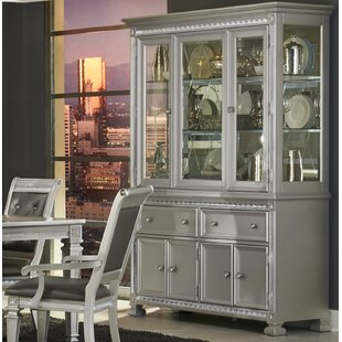 Mabe Lighted China Cabinet