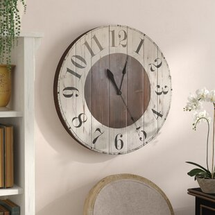 Farmhouse Rustic Wall Clocks Birch Lane