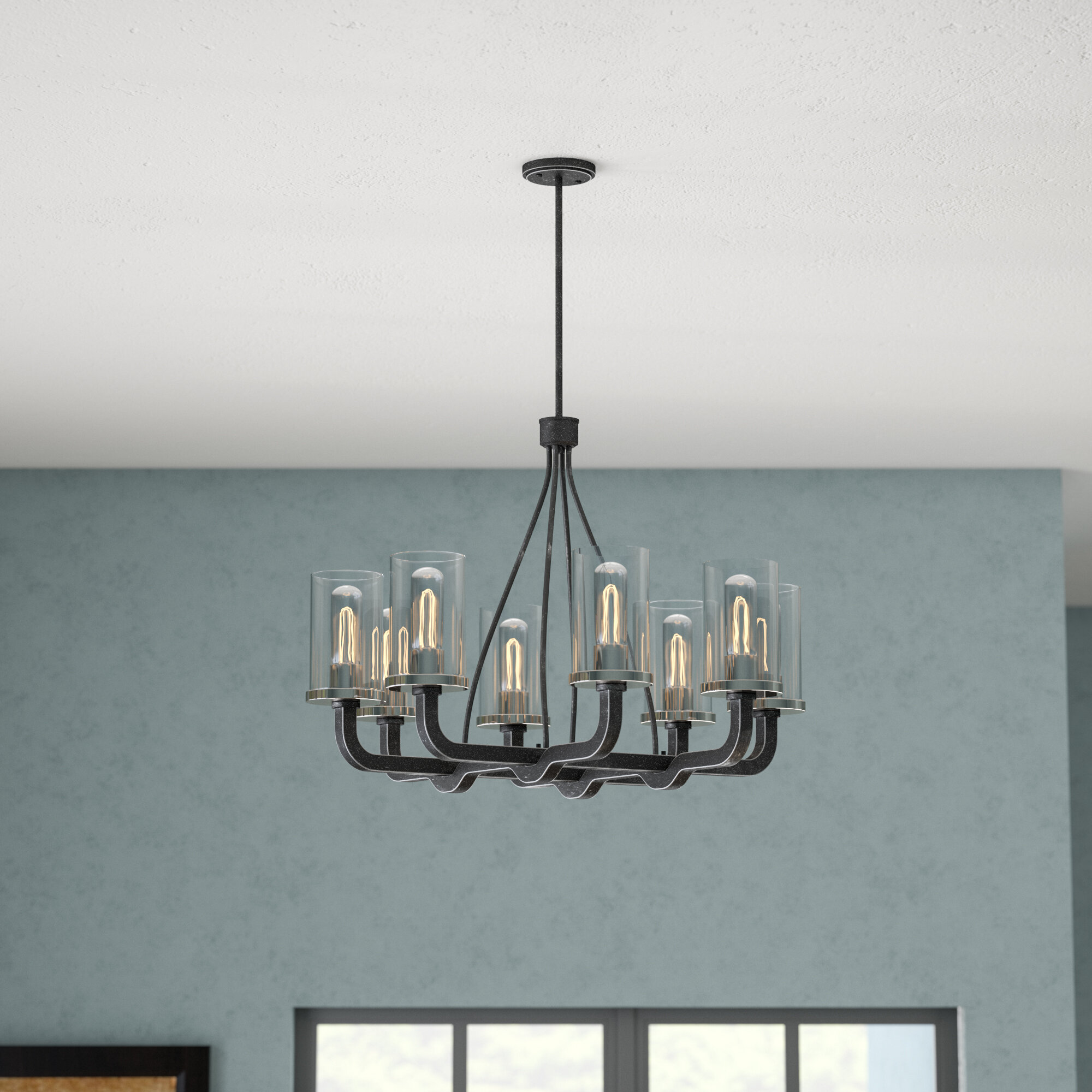 Trent Austin Design Beatrice 8-Light Shaded Chandelier & Reviews ...