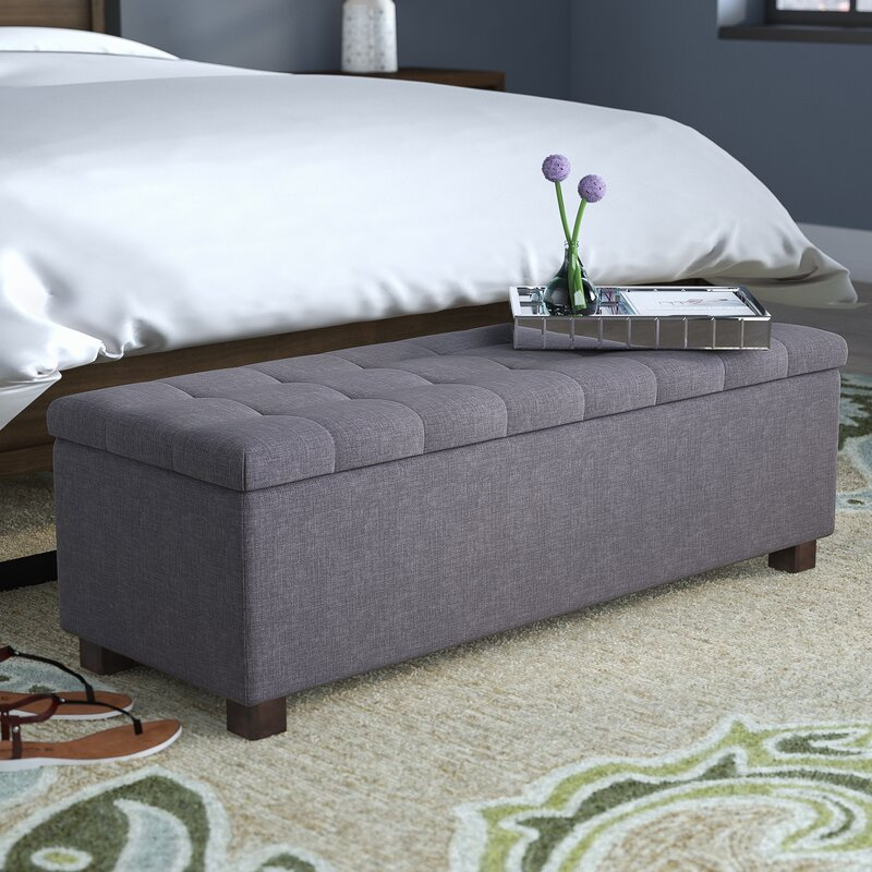 Kareem Upholstered Storage Bench