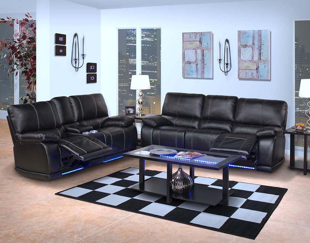 cantrell double furnitureusa for sm black reclining loveseat