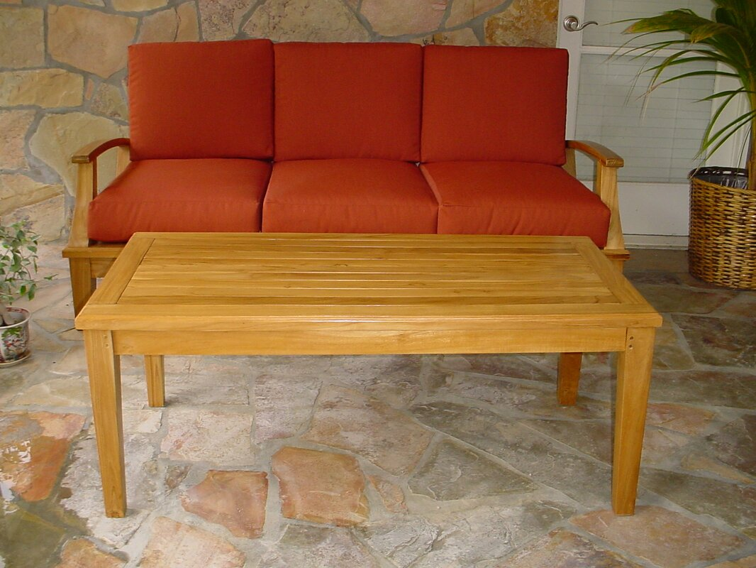 Anderson Teak Brianna Rectangular Coffee Table & Reviews ...
