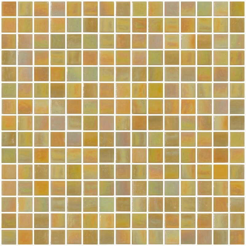 Architect S Marbled 0 75 X Gl Mosaic Tile In Mustard Yellow
