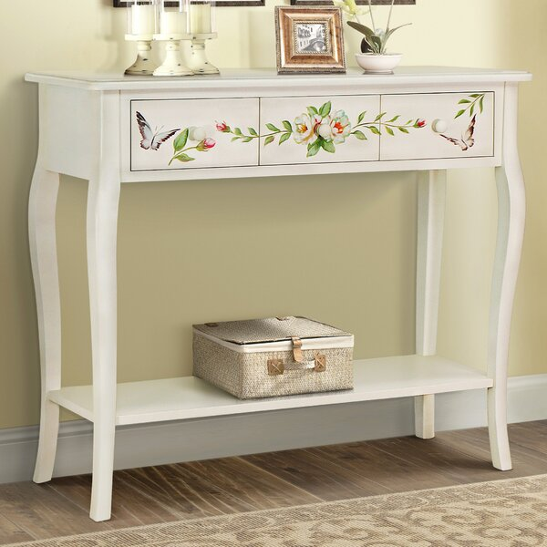 August Grove Sanger Hand Painted Console Table | Wayfair