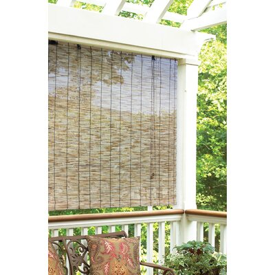 radiance outdoor natural reed blind rollup shade - Roll Up Shades
