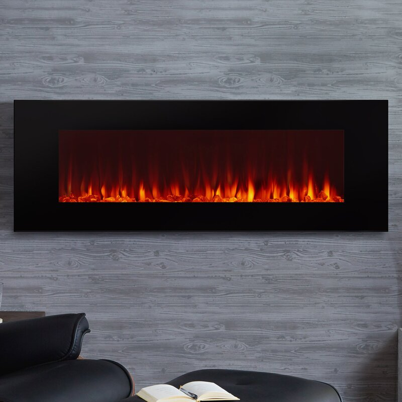 Wall Hanging Electric Fireplace real flame dinatale wall mount electric fireplace & reviews | wayfair