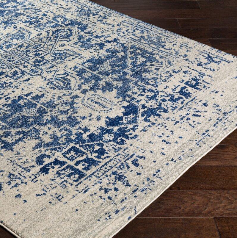 Mistana Hillsby Oriental Blue Beige Area Rug Amp Reviews