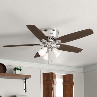 52 Builder Low Profile 5 Blade Ceiling Fan