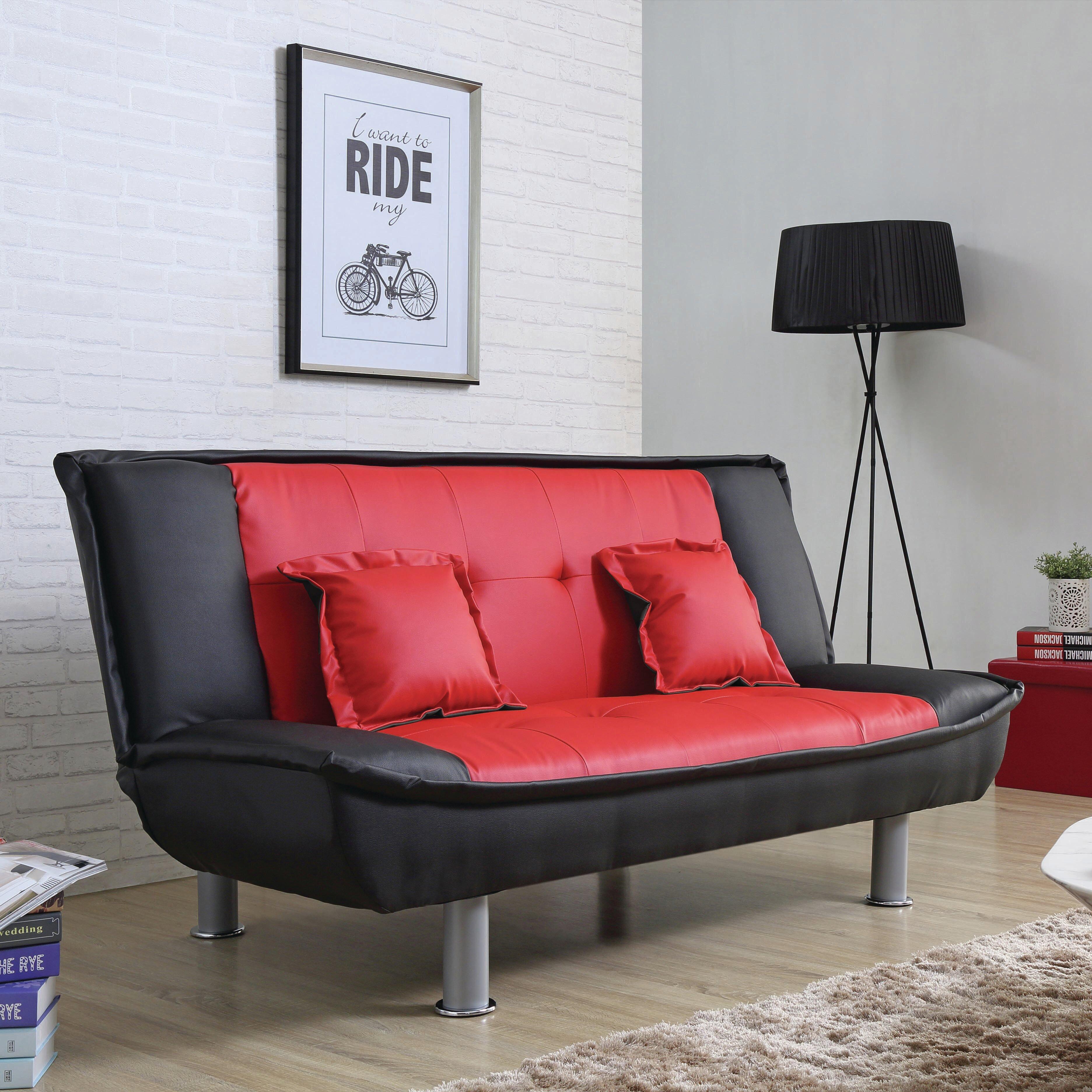 Zipcode design skyee modern convertible sofa reviews wayfair