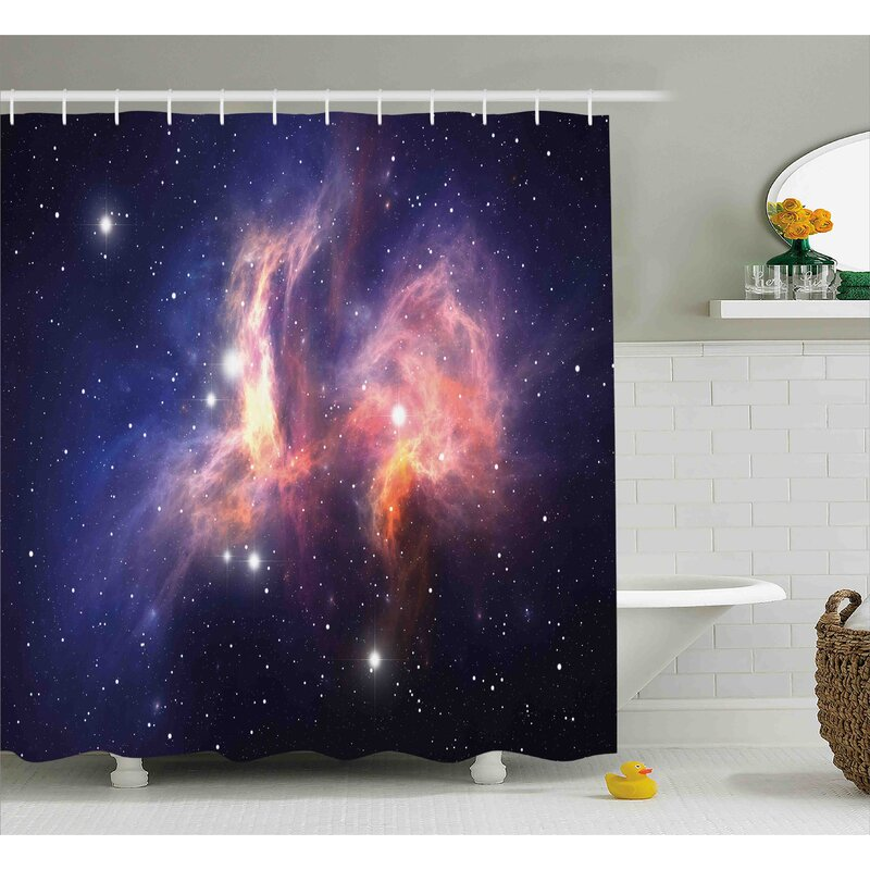 Stardust In Universe Shower Curtain