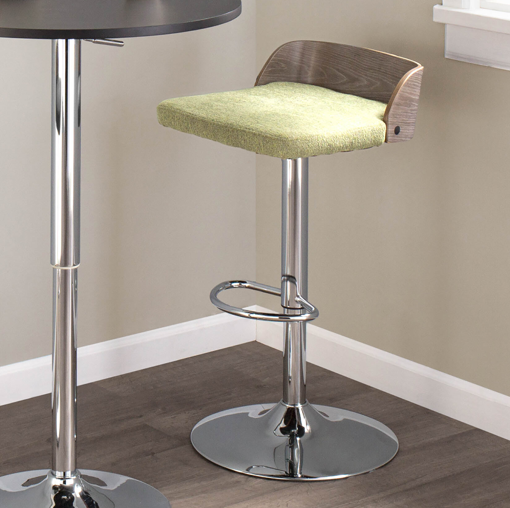 Excellent Rockaway Adjustable Height Swivel Bar Stool Cjindustries Chair Design For Home Cjindustriesco