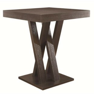 Dechant Wooden Counter Height Dining Table