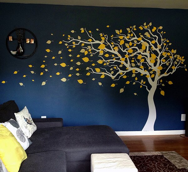 Pop decors blowing in the wind wall decal reviews wayfair for Best 20 wallums wall decals reviews
